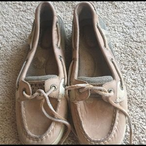 Sperry Women's Size 6 Tan Boat Shoes